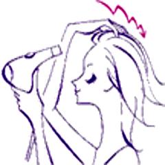 髪の乾かし方-1
