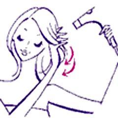 髪の乾かし方-4
